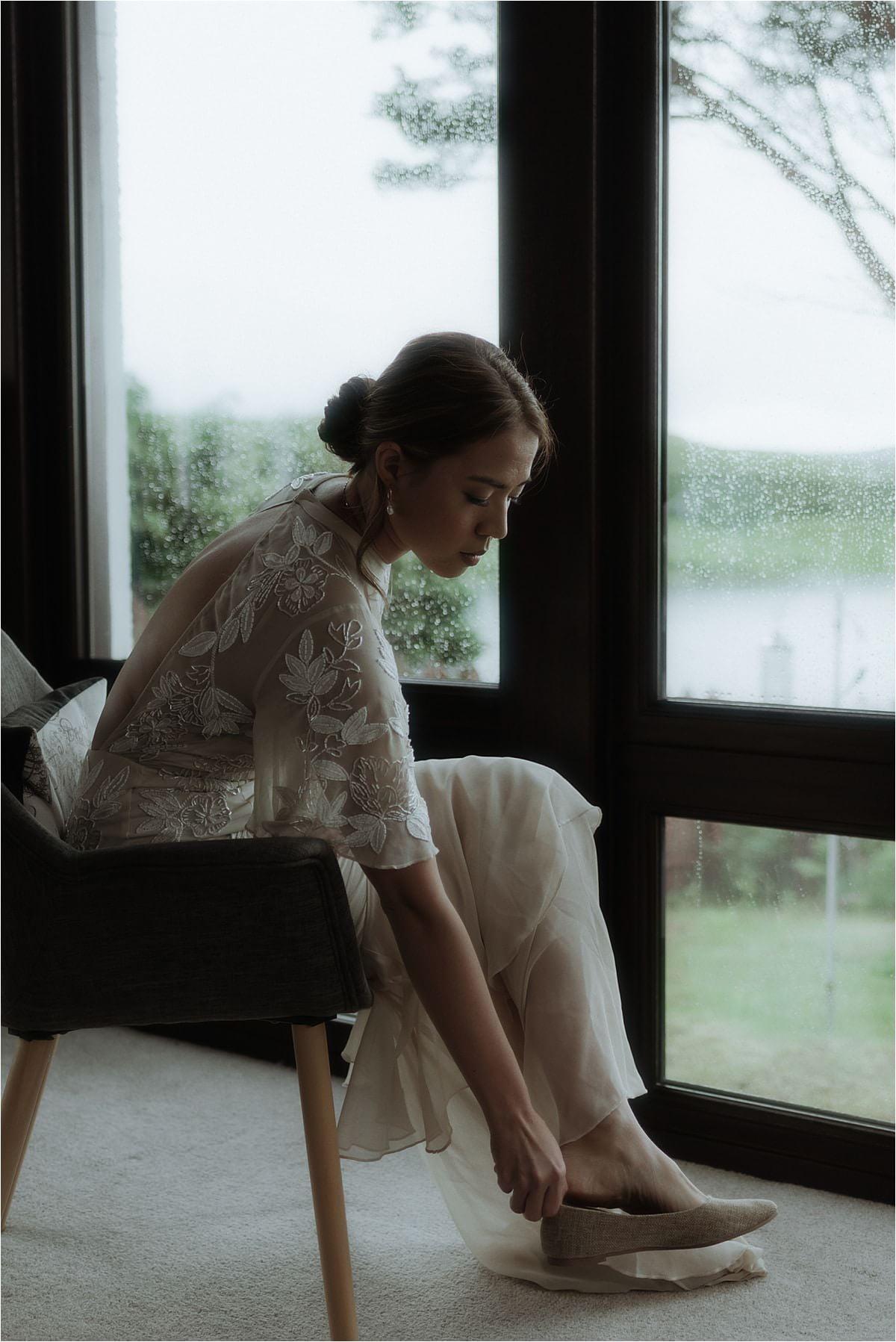 Isle of Skye elopement bride
