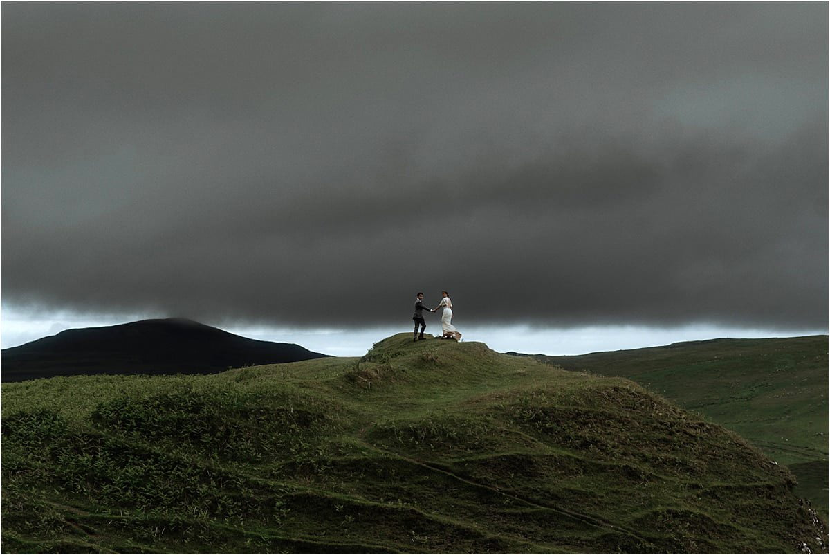 Isle of skye elopement of James and Michelle