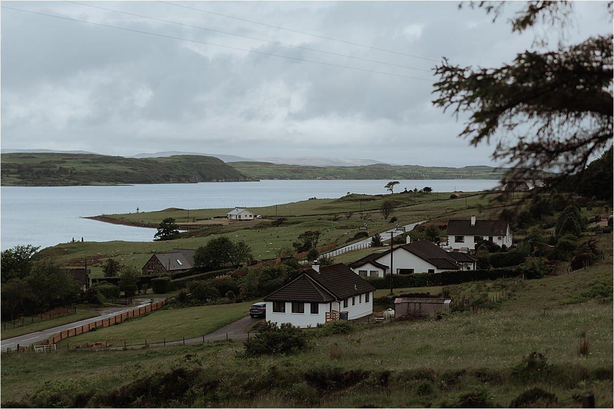 Uig on the Isle of skye