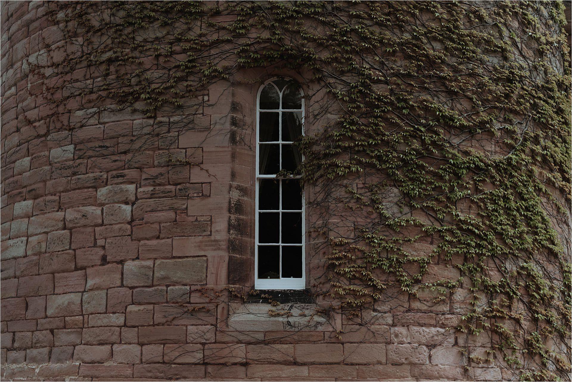 scottish castle window