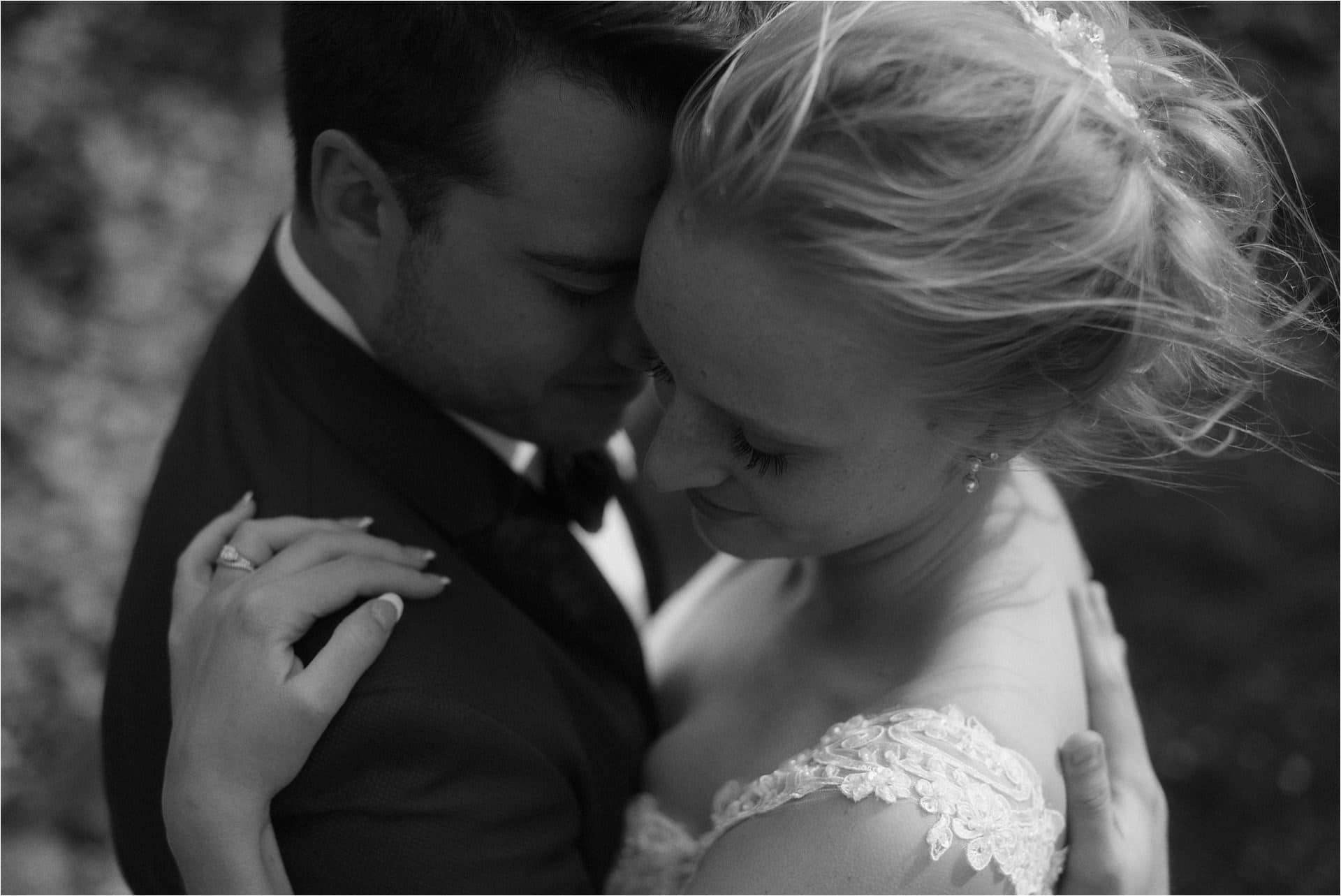 groom and bride during isle of skye elopement