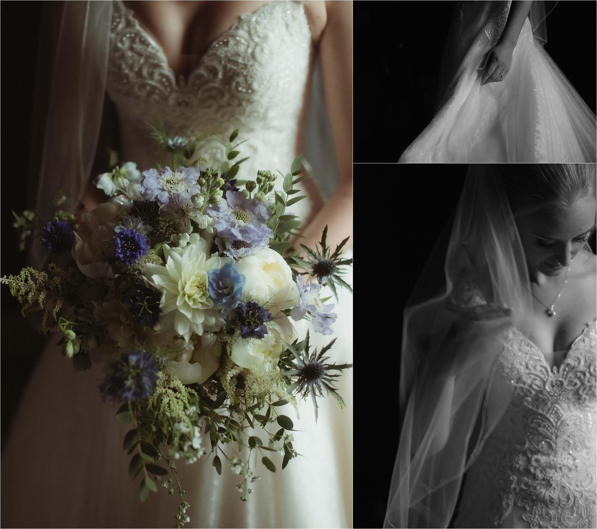 bridal flowers in scotland