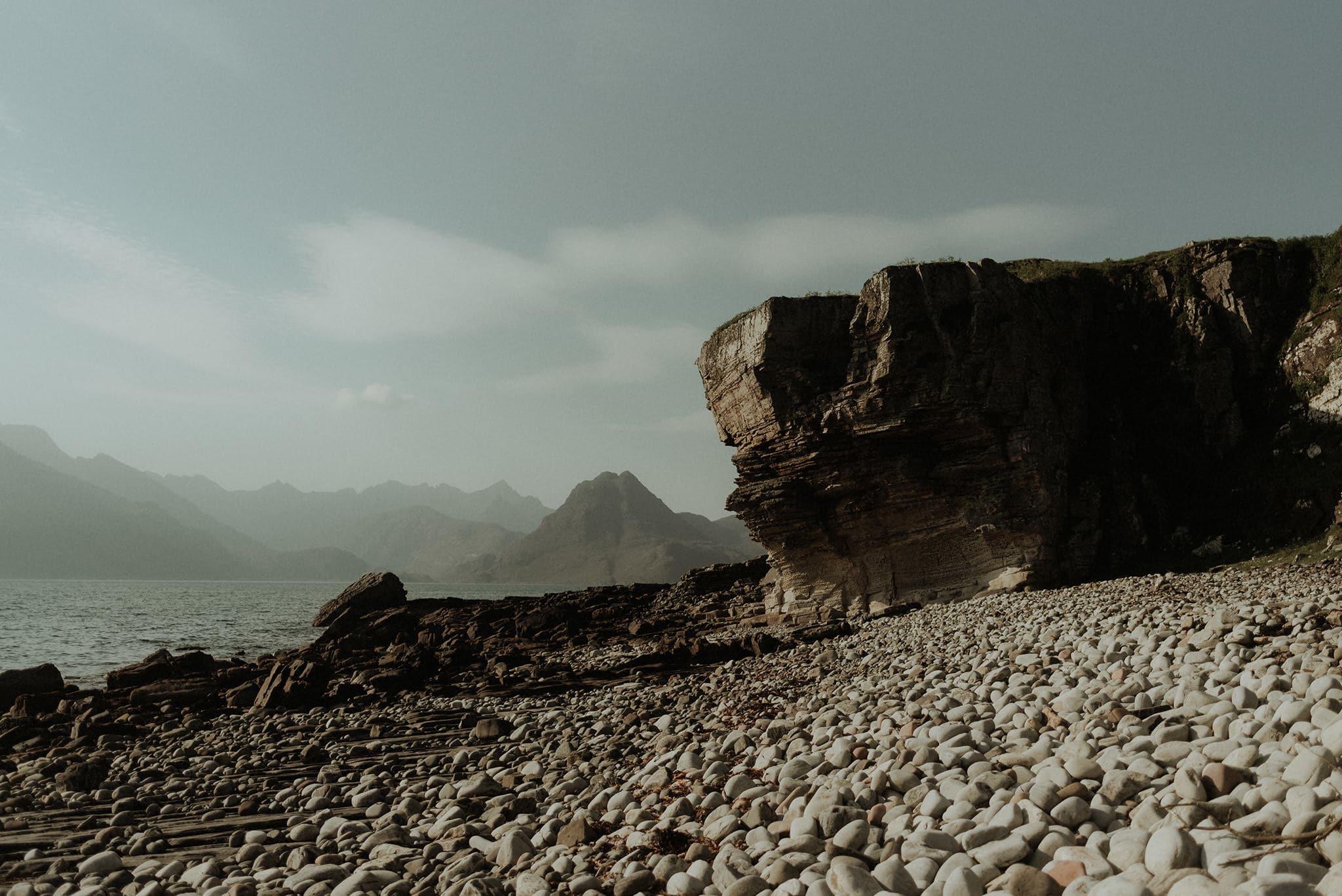 Isle of skye elopement at elgol
