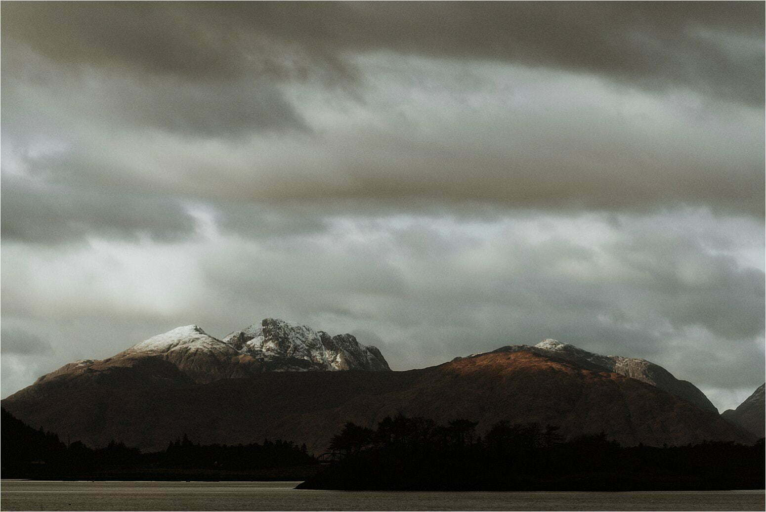 mountain view from Glencoe elopement
