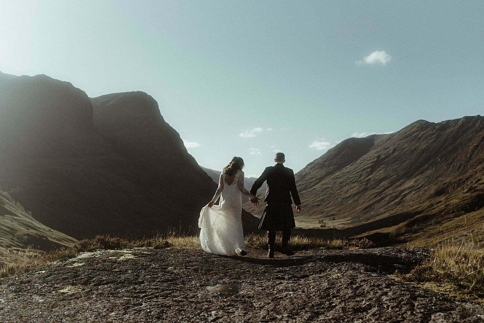 Glencoe elopement taking place